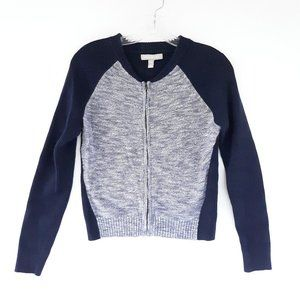 Banana Republic Medium Petite Blue Sweater Jacket